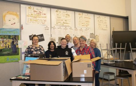 WHS alumna donates art supplies in honor of former student