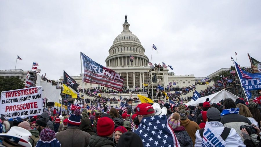 The+storming+of+the+Capitol+on+Wednesday%2C+January+6th%2C+2021.+Photo+Courtesy+of+Fox+Business.+