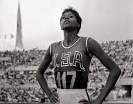 Wilma Rudolph at the Rome 1960 Olympics