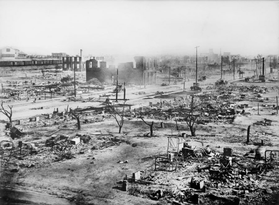 Ruins of Greenwood District in June 2021. Photo Courtesy of The Guardian.