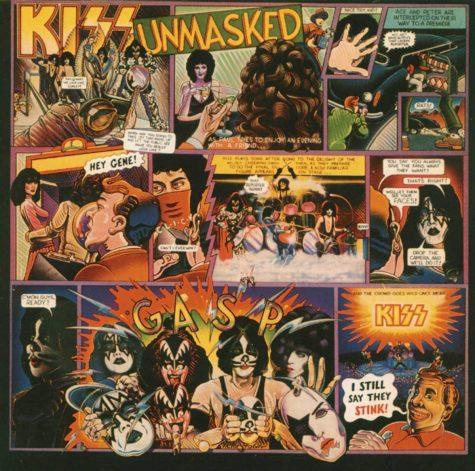 Unmasked album cover. PS: Amazon.com