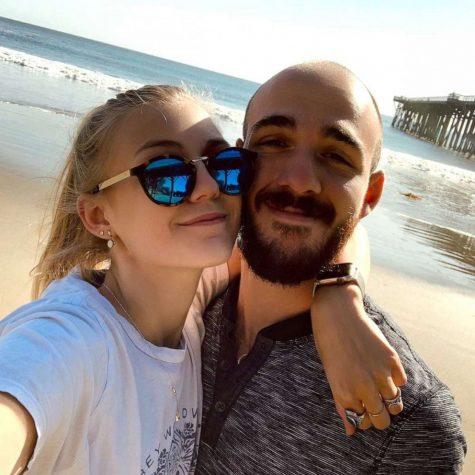 Gabby Petito with her boyfriend, Brian Laundrie.